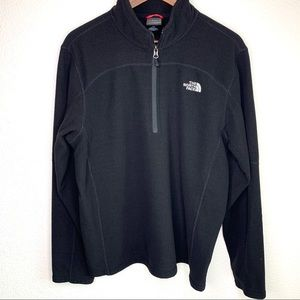 The North Face men's half zip fleece waffle